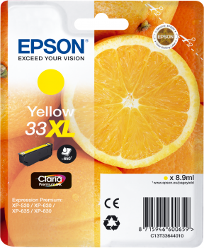 Epson atrament XP-630/900 yellow XL