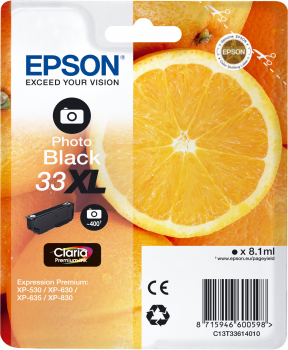 Epson atrament XP-630/900 photo black XL
