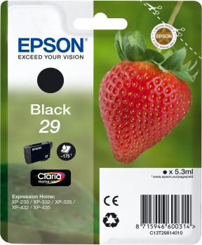 Epson atrament XP-332 black L