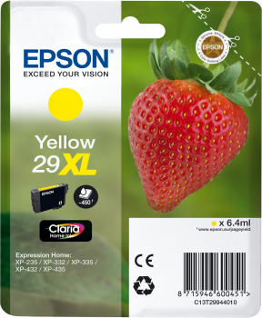 Epson atrament XP-332 yellow XL