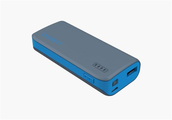 Cygnett Charge Up Sport 4.400mAh Powerbank 1 USB Port/1.0A, šedo-modrá