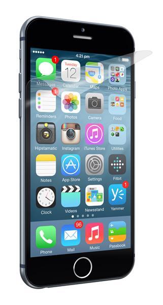Cygnett ochranná fólia OpticClear pre iPhone 6 Plus, proti odtlačkom prstov, priehľadná, 2ks