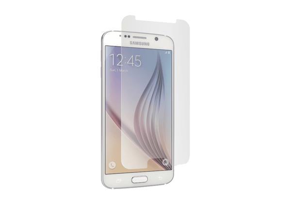 Cygnett ochranná fólia OpticClear pre Samsung Galaxy S6, proti odtlačkom prstov, priehľadná, 2ks