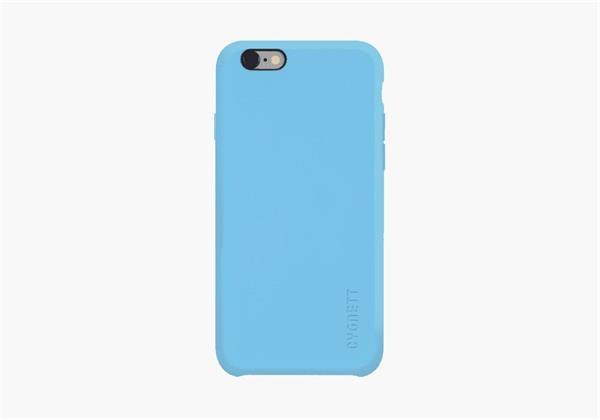 Cygnett obal Flex360 pre iPhone 6/6S, silikónový, Apple dizajn, modrý