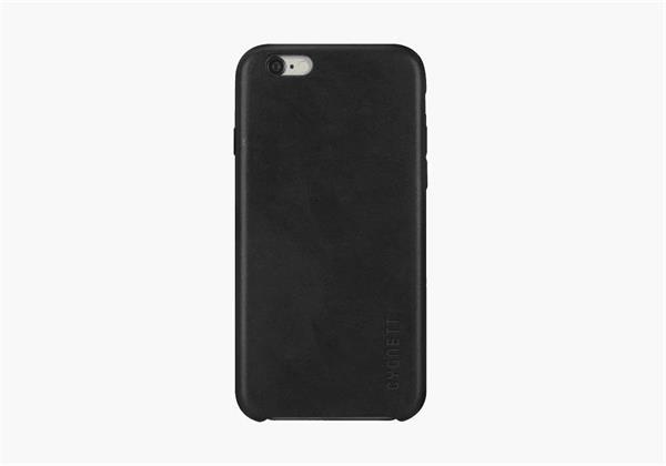 Cygnett obal Urban Wrap pre iPhone 6/6S Plus, imitácia elastickej kože, čierny