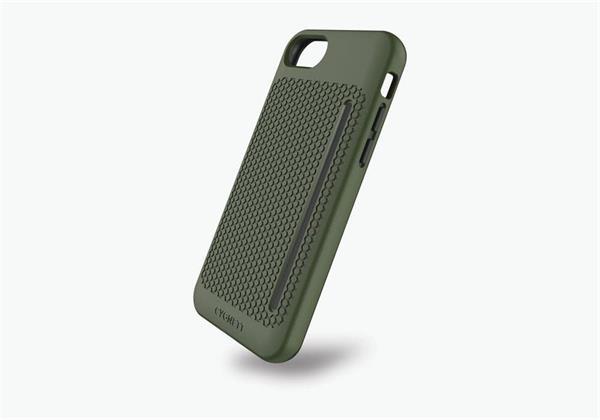 Cygnett, obal WorkMate Pro so zvýšenou odolnosťou pre iPhone 7/8, zelená-khaki