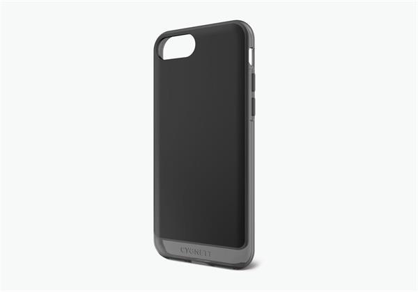 Cygnett, obal AeroShield Clear pre iPhone 7/8 Plus, čierny/dymový