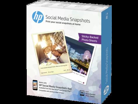HP Social Media Snapshots, 10 x 13 cm