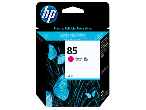 HP No. 85 Magenta Ink Cartridge, 28ml