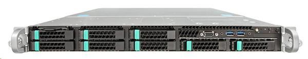Intel®Server R1208WT2GSR (Rack 1U, 2xE5-2600V3/V4, 24xDDR4 RDIMM, 8x2.5' HDD HotSwap, 8xSATA ports, 2x1Gb LAN, 1+0 750W