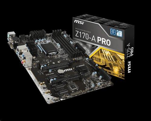 MSI Z170-A PRO/Socket 1151/DDR4/USB3/DSUB/DVI//DP/RTL8111H/ATX
