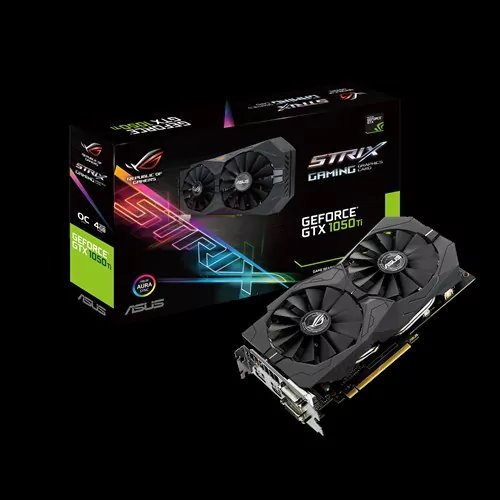 ASUS STRIX-GTX1050TI-O4G-GAMING 4GB/128-bit GDDR5, 2xDVI, HDMI, DP
