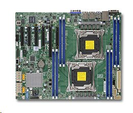 Supermicro X10DRL-C 2xLGA2011-3, iC612 8x DDR4 ECC,2x LAN+,IPMI