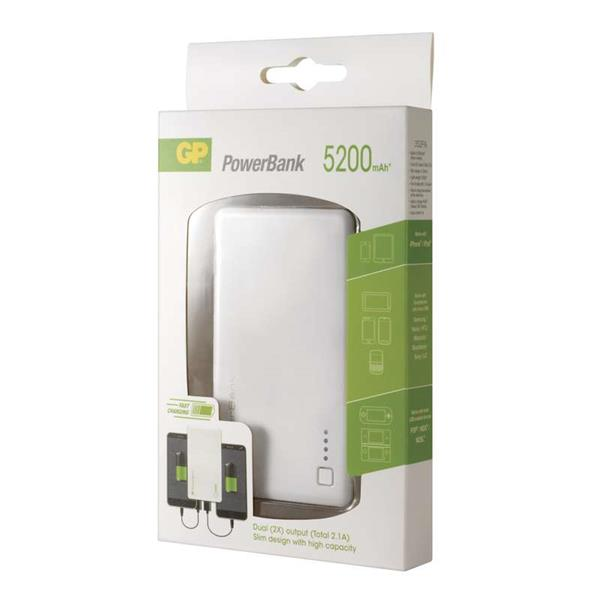 GP Power bank 352PA 5200mAh biely