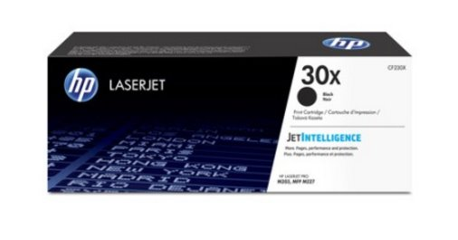 HP Čierna tonerová kazeta HP30X LaserJet