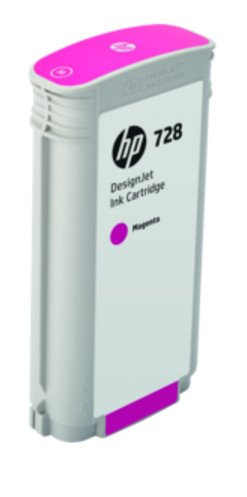 F9J66A HP 728 130-ml Magenta DesignJet Ink Cartridge