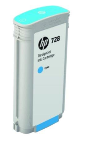 F9J67A HP 728 130-ml Cyan DesignJet Ink Cartridge