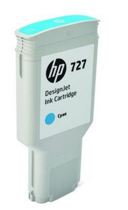 F9J76A HP 727 300-ml Cyan DesignJet Ink Cartridge