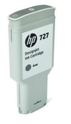 F9J80A HP 727 300-ml Gray DesignJet Ink Cartridge