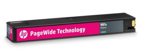J3M69A Originálna purpurová kazeta HP 981A PageWide