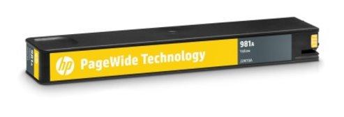 J3M70A Originálna žltá kazeta HP 981A PageWide