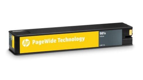 L0R11A Originálna žltá kazeta HP 981X PageWide s vysokou výťažnosťou