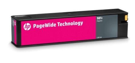 L0R14A Originálna purpurová kazeta HP 981Y PageWide s mimoriadne vysokou výťažnosťou