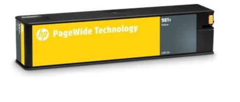 L0R15A Originálna žltá kazeta HP 981Y PageWide s mimoriadne vysokou výťažnosťou