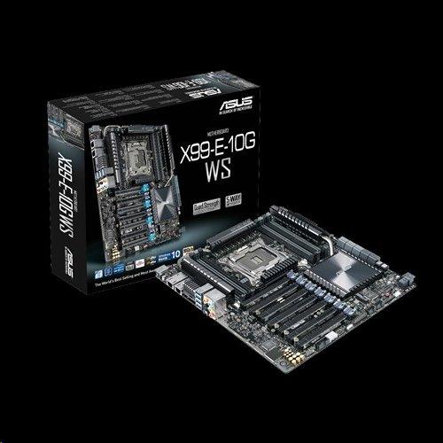 ASUS X99-E-10G WS soc.2011-v3 DDR4 4-Way PCI-E Gen3 x16 2x10GB LAN IPMI