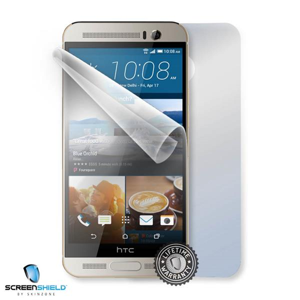 ScreenShield HTC One M9+ - Film for display + body protection
