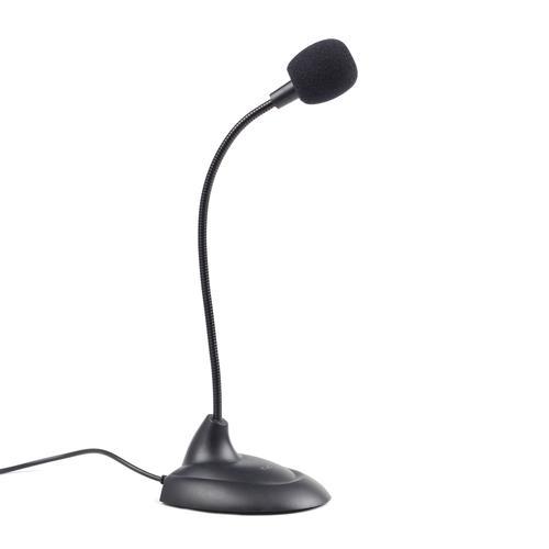 GEMBIRD MIC-205 desktop mikrofón čierny