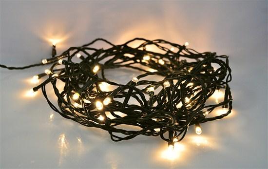 Solight LED vonkajšia vianočná reťaz, 400 LED, 20m, prívod 5m, 8 funkcií, IP44, teplá biela