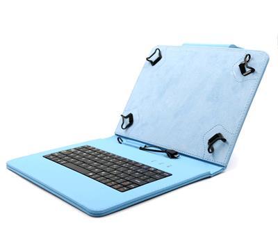 C-TECH NUTKC-04 modré púzdro univerzálne s klávesnicou pre 9,7