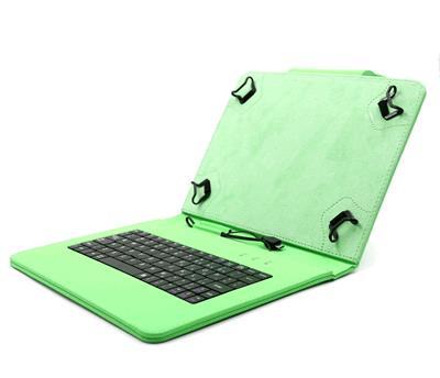 C-TECH NUTKC-04 zelené púzdro univerzálne s klávesnicou pre 9,7
