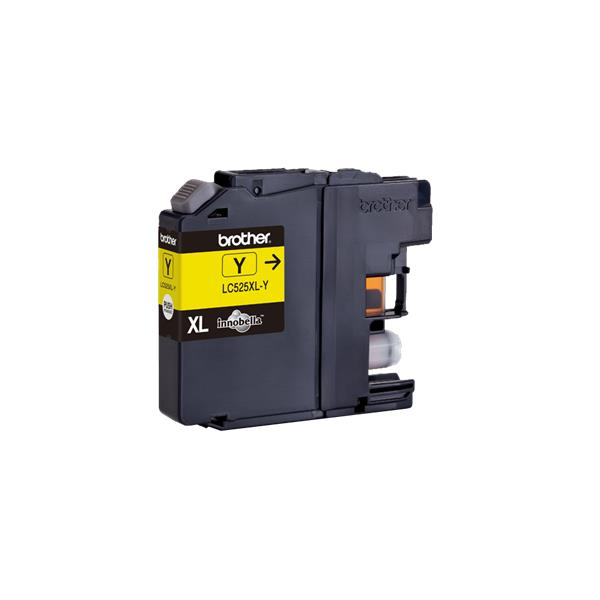 BROTHER LC-525XLY, yellow (DCP-J100/DCP-J105/MFC-J200) 1300 strán