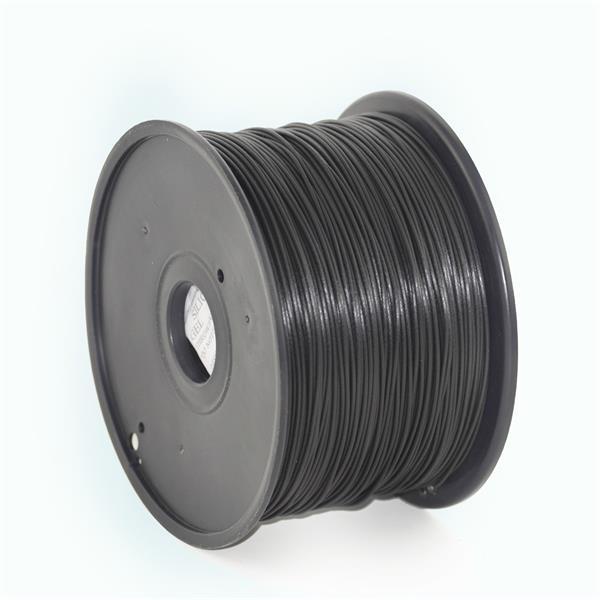 GEMBIRD PLA plastové vlákno pre 3D tlačiarne, priemer 1,75 mm, čierne