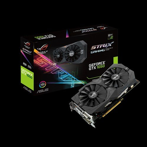 ASUS STRIX-GTX1050-2G-GAMING 2GB/128-bit GDDR5, 2xDVI, HDMI, DP
