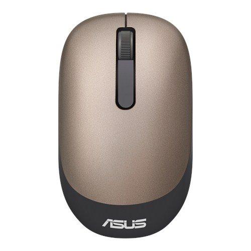 ASUS MOUSE WT205 Wireless - optická bezdrôtová myš; zlata