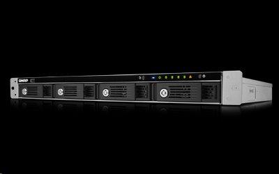 QNAP™ TS-451U-1G 4Bay rack NAS, Intel Celeron® 2.41GHz 1GB DDR3L RAM, 1U