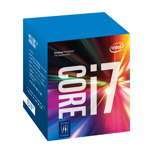 Intel® Core™i7-7700 processor, 3.60GHz,8MB,LGA1151 BOX, HD Graphics 630