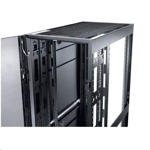 NetShelter SX 48U 600mm Wide x 1200mm Deep Enclosure with Sides Black