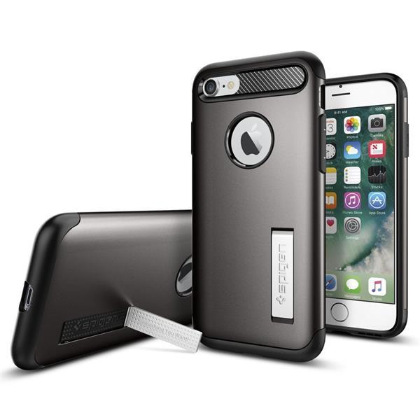 Spigen Slim Armor for iPhone 7 gun metal