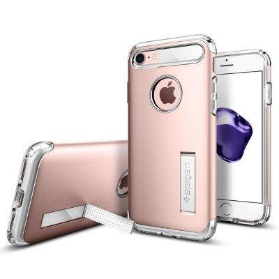 Spigen Slim Armor for iPhone 7 rose gold colored