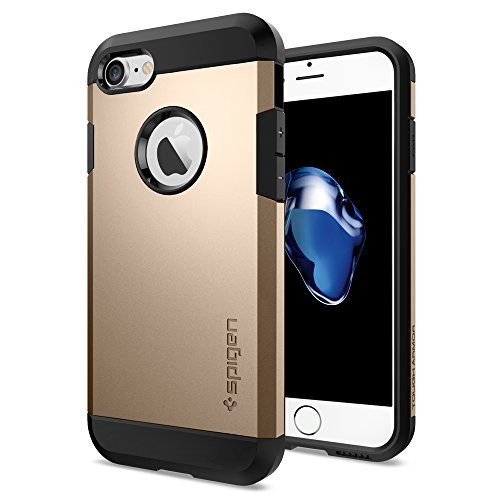 Spigen Tough Armor for iPhone 7 champagne gold