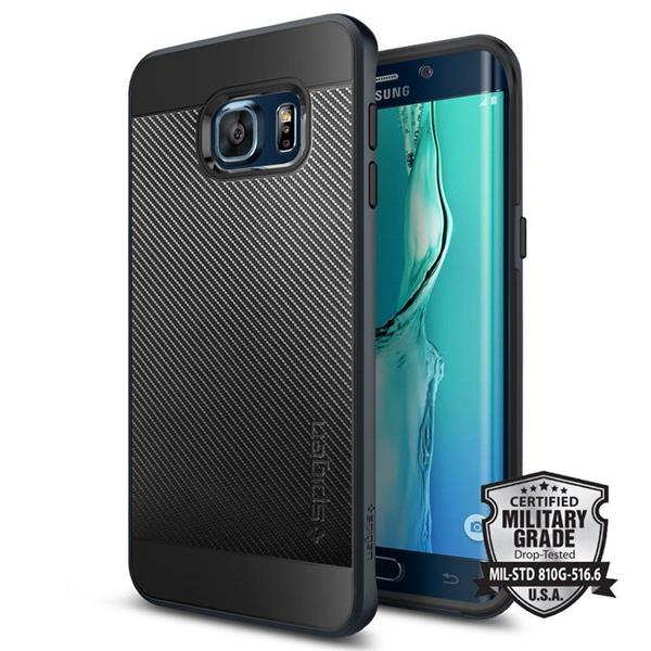 Spigen Neo Hybrid Carbon for Galaxy S6 Edge plus metal slate