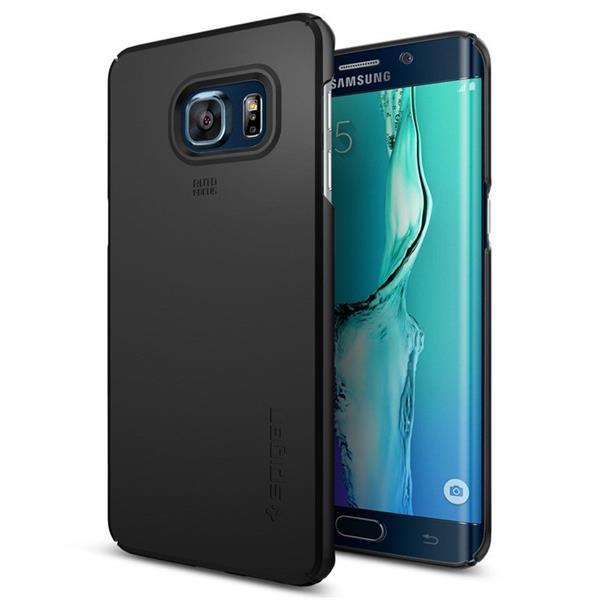 Spigen Thin Fit for Galaxy S6 Edge plus black