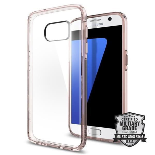 Spigen Ultra Hybrid for Galaxy S7 rose crystal