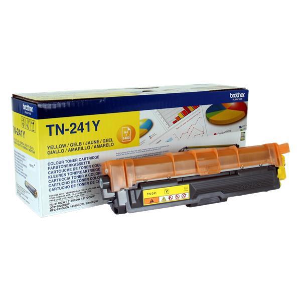 BROTHER TN-241Y yellow (HL-31xx, DCP-9020, MFC-9140/9340) 1400 strán