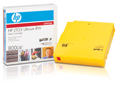 hp ultrium data cartridge 800G LTO3
