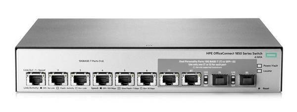 HPE 1850 6XGT 2XGT/SFP+ Switch